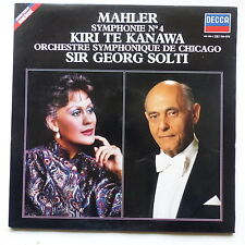MAHLER Symphonie 4 Kiri te Kanawa Orch symph Chicago SIR GEORG SOLTI 410188 1