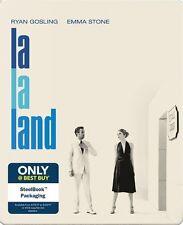 NEW 2017 La La Land SteelBook Blu-ray DVD and Digital Copy Best Buy Exclusive