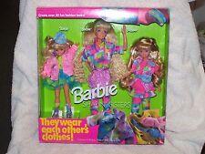 barbie sharin sisters fashions fit barbie, skipper and stacie
