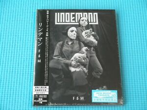 LINDEMANN CD + Hardback F&M w/Bonus Track 2019 Japan NEW UICO-9075 OBI RAMMSTEIN