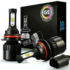 JDM ASTAR G2 8000LM 9004/HB1 LED Headlight High & Low Beam Bulbs Xenon White