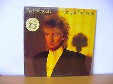 "ROD STEWART ""Tonight I'm Yours"" Original STILL SEALED LP from 1981 (WB BSK 3602)"