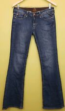 Brown Label Women's Denim Jeans Size 27 Cotton Made in USA low rise