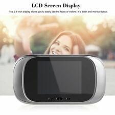 Digital door peephole wifi Digital Doorbell Viewer 2.8Inch LED Screen 90 Degree