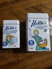 Laundry Soda (3.3 lbs for 100 loads) and Nellie's Oxygen Brightener -