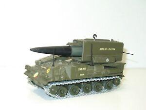 SOLIDO Char militaire AMX 30 PLUTON a missile fusée non éjectable 1980'