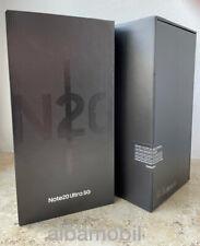 Samsung Galaxy Note 20 Ultra 5G SM-N986B/DS - 256GB - Mystic Black - Neu