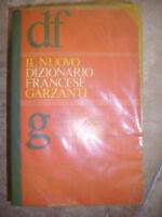 IL NUOVO DIZIONARIO FRANCESE - ED:GARZANTI - ANNO:1985 (FT)