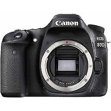 Canon EOS 80D 24MP Digital SLR Camera Body - EX-Demo