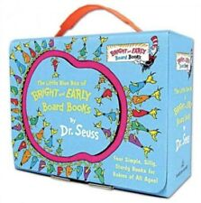 Little Blue Box of Bright and Early Board Books by Dr. Seuss 9780307975867, NEW