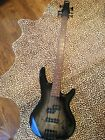 IBANEZ 4 string bass guitar, right handed, GSR200SMNGT w/ new gig bag