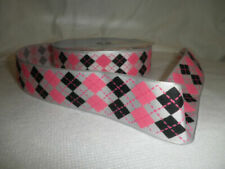 Pink Wire Edged Ribbons & Ribboncraft