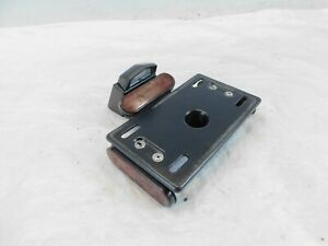 2019 Indian Chief Chieftain Roadmaster & Springfield License Plate Mount Bracket