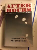 Lawrence Block After Hours Signed First Edition Essays Mystery Criticism 1995
