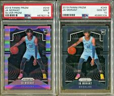 Absolute Mystery Pack Patch Auto Basketball Ja Morant Prizm Silver Rookie PSA 10