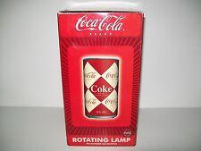 Coca Cola Brand Rotating Lamp New