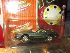 1996 Corvette Chevrolet Johnny Rayo Carta de Juego Fichas Póker Temporada 2 1/64