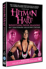 NEW Bret Hart - Wrestling With Shadows: 10th Anniversary DVD with Owen Hart Disc