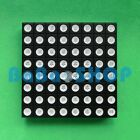 RGB 60x60mm 8x8 Colorful Full Color LED Dot Matrix Display Square Common Anode