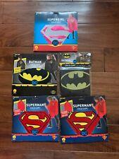 Lot Of 5 Rubie's Super Hero Cape for Kids Supergirl Superman Batman