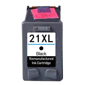 Schwarz für HP 21 XL 21XL Deskjet F4180 F2280 F2180 F2224 F4135 F4140 F370 F380