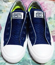 Used All Star Converse Chuck Taylor II Size 5.5 Blue & White