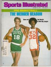 JULIUS ERVING DAVE COWENS SI Sports Illustrated Magazine Oct 1976 Nets Celtics
