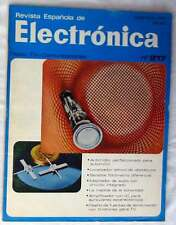 REVISTA ESPAÑOLA DE ELECTRÓNICA - Nº 217 DICIEMBRE 1972 - VER ÍNDICE