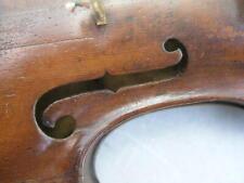 sehr alte dunkle- sehr hoch gewölbte Geige zum Herrichten (Kopie A.)
