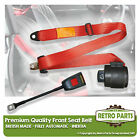 Front Automatic Seat Belt For Ginetta G4 1000 Coupe 1960-1963 Red