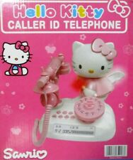 Hello Kitty Angel Classic LCD Landline Telephone With Caller ID