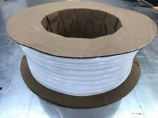 """1"""" x 100 ft WHITE Vinyl Insert Trim Molding Screw Cover RV Boat Camper Trailer"""