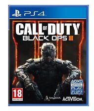 Call of Duty Black Ops 3 III (PS4) Comme neuf-même jour envoi 1st Classe Livraison