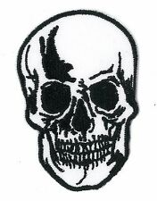 SKULL iron on/sew on Embroidered Patch Applique DIY (US Seller) Halloween