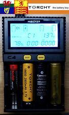 Miboxer C4 smart charger (new model) 1.5A  18650 26650 21700  18350 NiMh Li-Ion