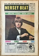 Beatles Rolling Stones  Cavern Club   Mersey Beat  Pop Music Paper  July 16 1964