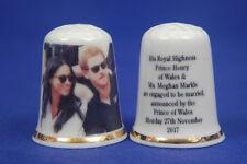 Prince Harry & Meghan Engagement Announced 27th Nov.2017 Informal Thimble B/69
