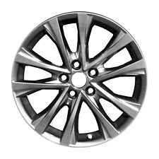 """Reconditioned 19/"""" Machined//Black Alloy Wheel 2016-2019 Toyota Highlander 75215"""