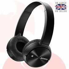 GENUINE Sony MDR-ZX330BT On-Ear Bluetooth Stereo Headphone with NFC Black *UK* A