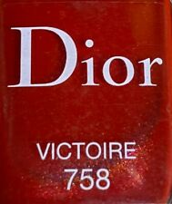 Dior nail polish 758 VIKTOIRE limited edition