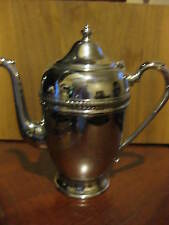 Vintage Mid Century Cromwell Chromium Silver Mfg Coffee /Tea Pot