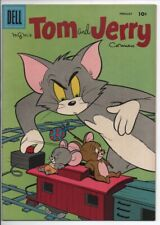 Dell Comics Tom and Jerry #163 Feb. 1958 NM