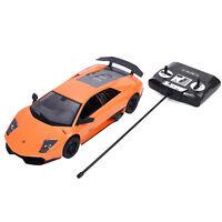1:14 Lamborghini Murcielago LP670-4 SV Radio Remote Control RC Car Orange New