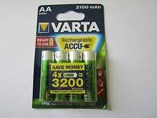 12x AA 2100mAh Akku Nickel-Hydrid HR6 Varta AR1355