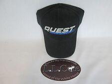 G5 Quest Archery Black Baseball cap Adjustable Blue logo