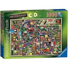 Ravensburger Awesome Alphabet C and D 1000pc Jigsaw Puzzle