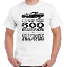 Mad Max T-Shirt Mens She Sucks Nitro MFP Interceptor Unisex Top Movie V8 Engine