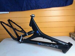 19 Inch Maverick ML8 Full Suspension Mountain Bike Frame Shock Clamp BB Hanger