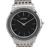Auth Citizen Eco-drive one 8826-T022812/AR5000-50E SolaQuartz Mens Watch J#92701