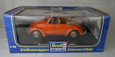 Revell Diecast #86-8947 1:18 Scale Orange Volkswagen Convertible Mint With Box